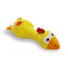 Kačer latexový žlutý 18cm