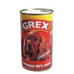 GREX Hovězí konzerva 1280g