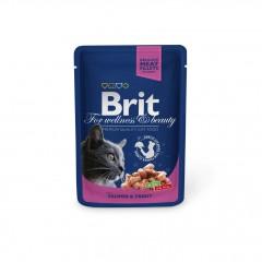 Brit kapsa losos a pstruh 100g