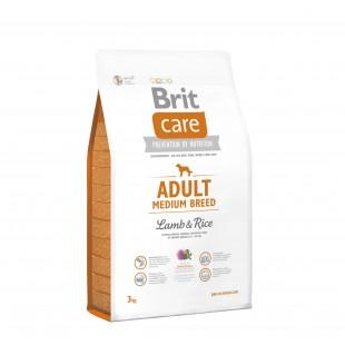 Brit Care Dog Adult Medium Lamb & Rice 3kg