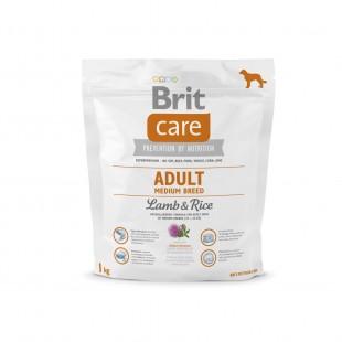 Brit Care Dog Adult Medium Lamb & Rice 1kg