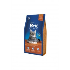 Brit-Premium Cat Indoor 8kg