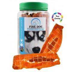 FINE DOG Filet kuřecí s jehněčím 300g DÓZA