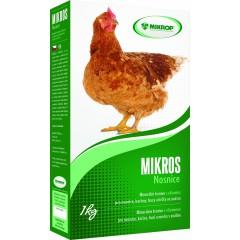 Mikros Nosnice Vitamíny VDN 1kg