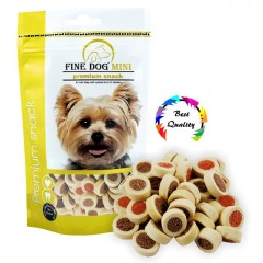 FINE DOG MINI Kroužky soft Mix 100g