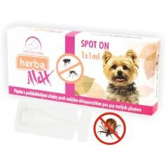 Herba Max Spot On pro psy malých plemen 1x 1ml