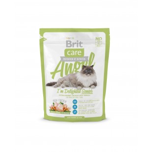 Brit Care Cat Angel I´m Delighter Senior 400g