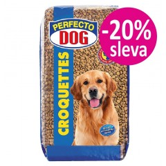 Perfecto Dog Granule pro psy KROKETY 20kg