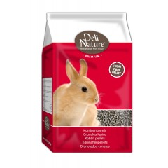 Deli Nature Premium RABBIT PELLETS 4kg