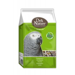 Deli Nature Premium PARROTS with FRUIT 800g