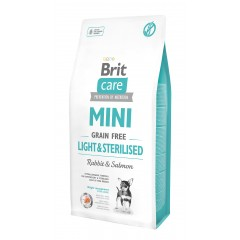 Brit Care MINI Dog Grain-Free Light & Sterilised 7kg