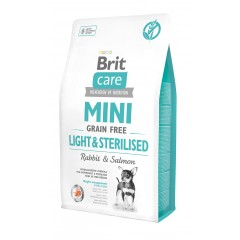 Brit Care MINI Dog Grain-Free Light & Sterilised 2kg