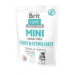Brit Care MINI Dog Grain-Free Light & Sterilised 400g