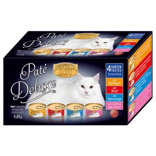 Perfecto Cat Paté Deluxe konzervičky 4 x 85g