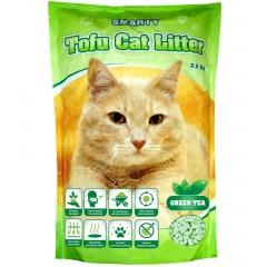Smarty TOFU podestýlka pro kočky S VŮNÍ ZELENÝ ČAJ 6litrů