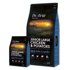 Profine Junior Large Breed Chicken & Potatoes 15kg