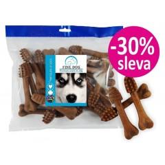 FINE DOG Zubní kartáček HOVĚZÍ - velký 12,5cm / 20ks - sáček