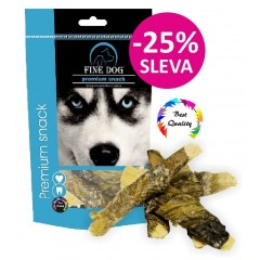 FINE DOG Losos snack 10ks