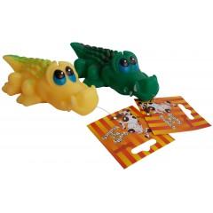 Gumový krokodýl /M/ 15cm - HRAČKA