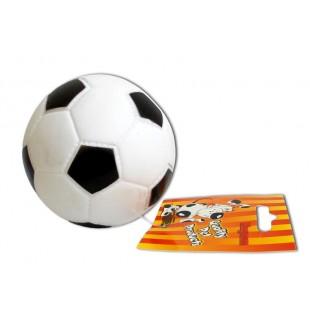 Gumový míček FOTBAL pr.7cm - HRAČKA