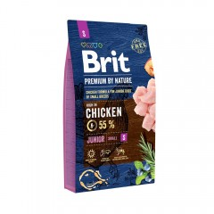 Brit Premium by Nature Junior -S- 8 kg