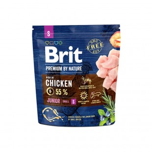 *NEW* Brit Premium DOG by Nature Junior -S- 1 kg