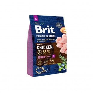 *NEW* Brit Premium DOG by Nature Junior -S- 3 kg