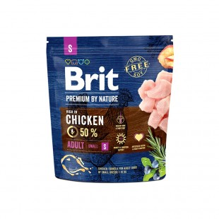 *NEW* Brit Premium DOG by Nature Adult -S- 1 kg