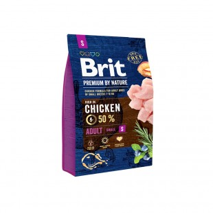 *NEW* Brit Premium DOG by Nature Adult -S- 3 kg
