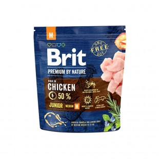 *NEW* Brit Premium DOG by Nature Junior -M- 1 kg