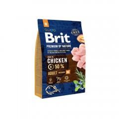 Brit Premium by Nature Adult -M- 3 kg