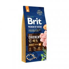 Brit Premium by Nature Adult -M- 15 kg