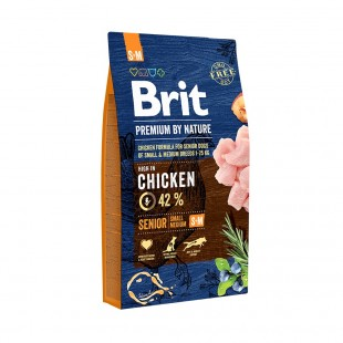 Brit Premium by Nature Senior -S+M- 8 kg