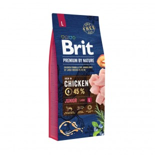 Brit Premium by Nature Junior -L- 15 kg