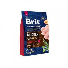 Brit Premium by Nature Adult -L- 3 kg