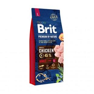 *NEW* Brit Premium DOG by Nature Adult -L- 15 kg