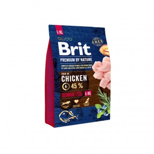 *NEW* Brit Premium DOG by Nature Senior -L+XL- 3 kg