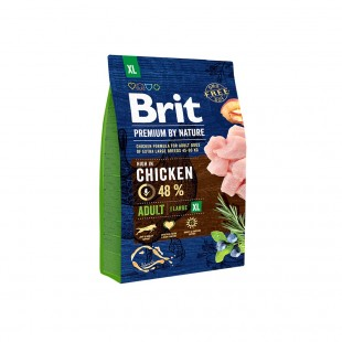*NEW* Brit Premium DOG by Nature Adult -XL- 3 kg