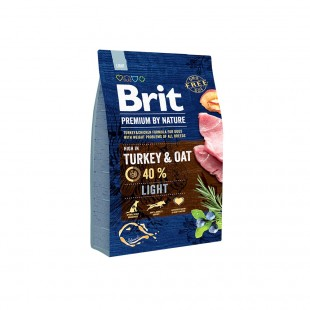 *NEW* Brit Premium DOG by Nature Light 3 kg