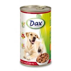 Dax KONZERVA kousky pro psa hovězí 1240g