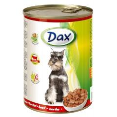 Dax KONZERVA kousky pro psa hovězí 415g