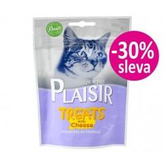 Plaisir Cat Treats pamlsek se sýrem 60g