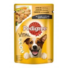 Pedigree KAPSA pro psy s kuřecím masem a zeleninou ve šťávě 100g