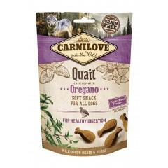 Carnilove Dog Semi Moist Snack Quail enriched with Oregano 200g