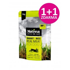 Nativia Real Meat Rabbit & Rice 1kg