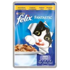 FELIX Fantastic Adult s kuřetem v želé 100g