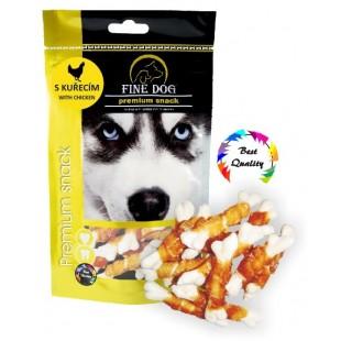 FINE DOG Kostička kuřecí 7ks