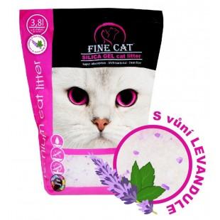 FINE CAT silica-gel LEVANDULE 3,8litru / 1,7kg