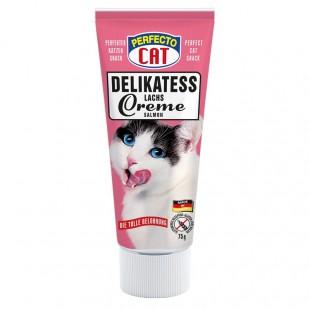 Perfecto Cat Pasta Delikátní lososový krém 75g