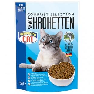 Perfecto Cat Kroketten snack 20% LOSOS 125g